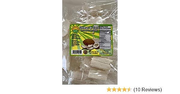 Amazon.com : Coconut Cream Candy (Cremas De Coco) By Fabrica De Dulces La Fe : Hard Candy : Grocery & Gourmet Food