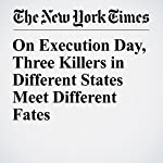 On Execution Day, Three Killers in Different States Meet Different Fates | Matthew Haag