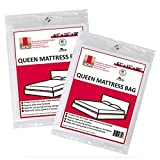 "UBOXES Queen Size Mattress Covers/Bags 61"" x 15"" x 90"" Moving Supplies (QUEENCOVER02)"