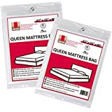 """UBOXES Queen Size Mattress Covers/Bags 61"""" x 15"""" x 90"""" Moving Supplies (QUEENCOVER02)"""