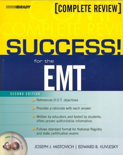 Read Online Success! for the Emt: Complete Review Success! for the Emt pdf epub