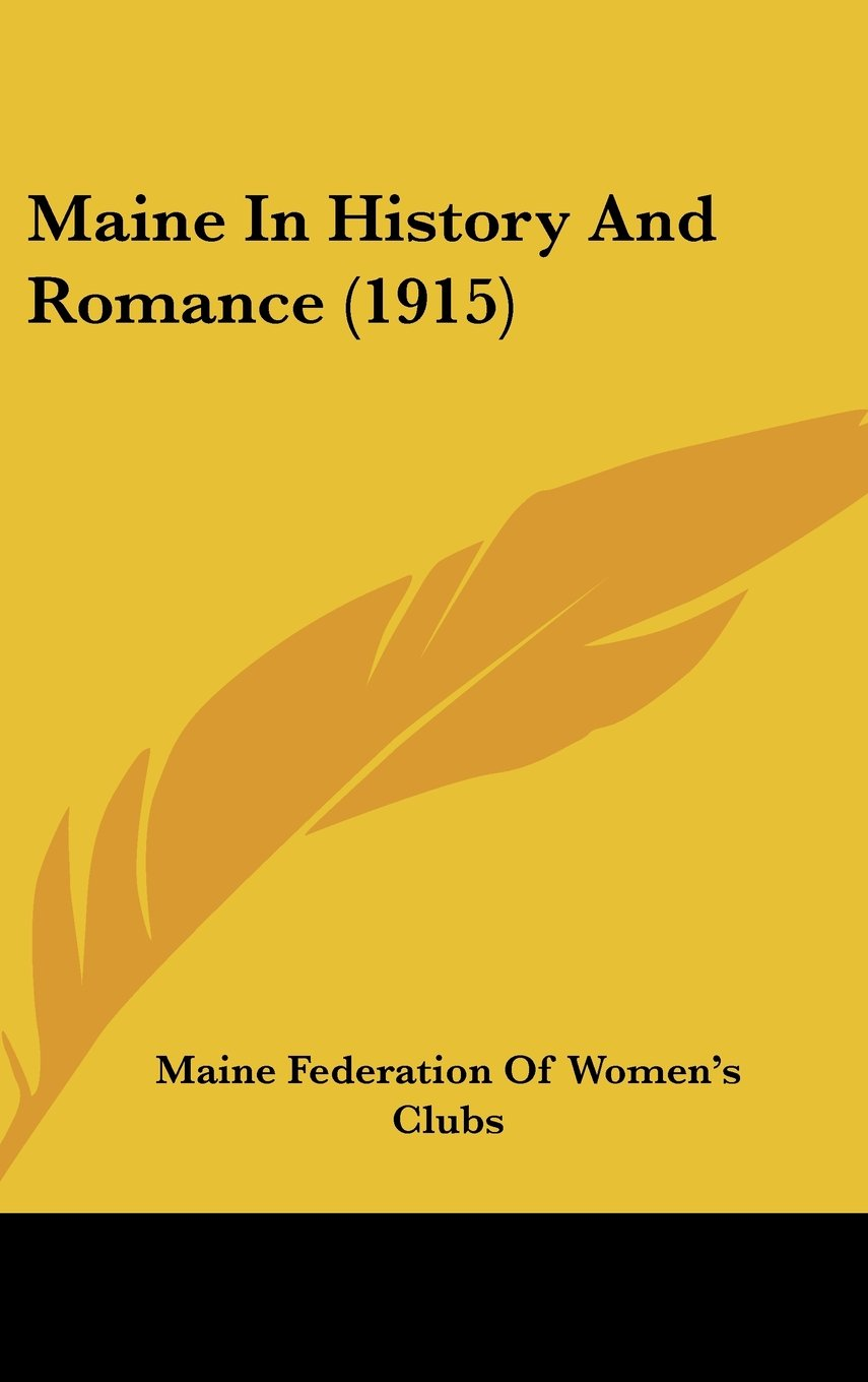 Download Maine In History And Romance (1915) pdf