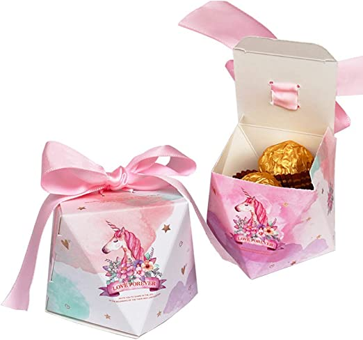 Amazon.com: Cajas de caramelos para fiestas de cumpleaños ...