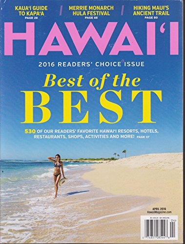 Hawaii Magazine April 2016