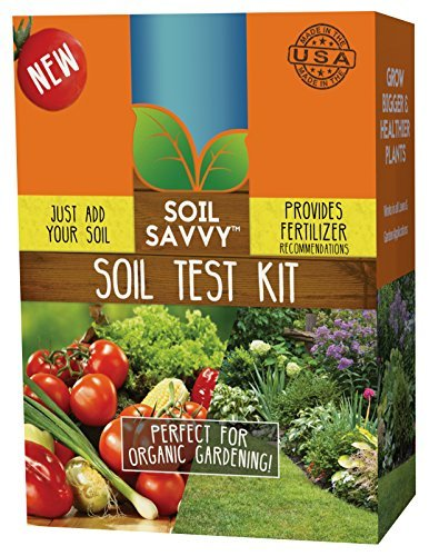 Soil Savvy - Soil Test Kit | Understand What Your Lawn or Garden Soil Needs, Not Sure What Fertilizer to Apply | Analysis Provides Complete Nutrient Analysis & Fertilizer Recommendation - Test Kits Soil