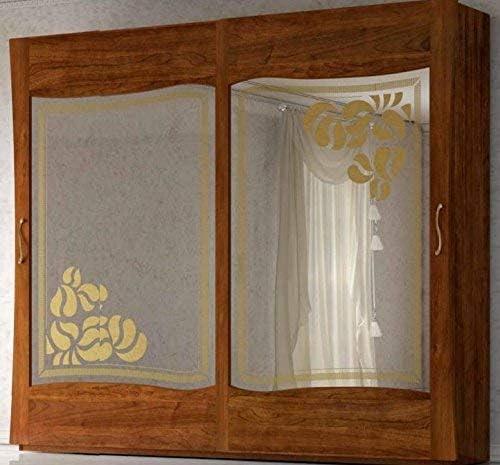 dafnedesign. com – Armario 2 puertas correderas con espejo, color ...