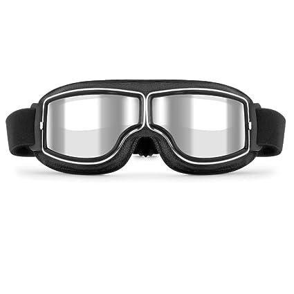 Aviator Pilot Motorcycle Adult Goggles Eyewear Glasses Retro Off Road Dirt Biker