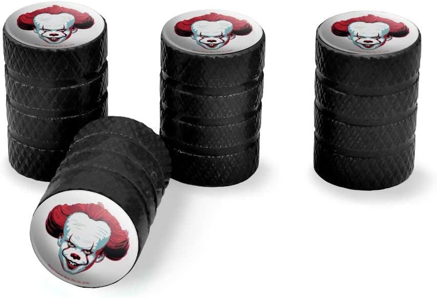 Graphics and More IT Pennywise Come Home Tire Rim Wheel Aluminum Valve Stem Caps