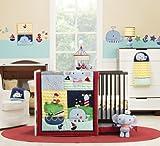 Kids Line Crib Set, Sail Away, 6 Piece