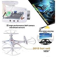 Simply Silver - Drone - Syma X5SW-V3 Wifi FPV Explorers 2.4G 4CH RC Quadcopter Drone HD Camera UFO White