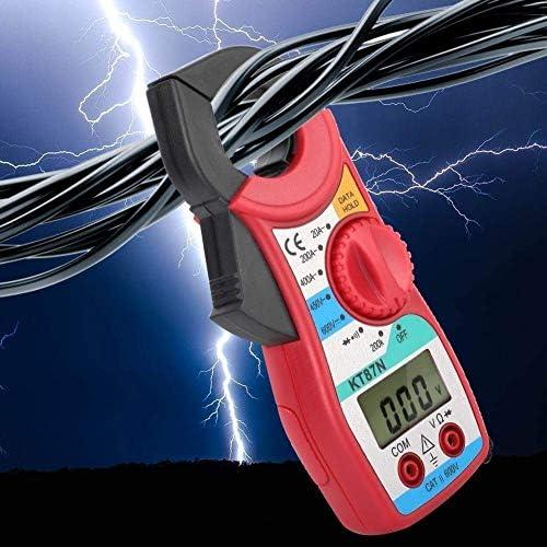 KT87N 600V/450V DC/AC Digital Clamp Meter 20-400A Ammeter Digital Multimeter with LCD Display FDWFN