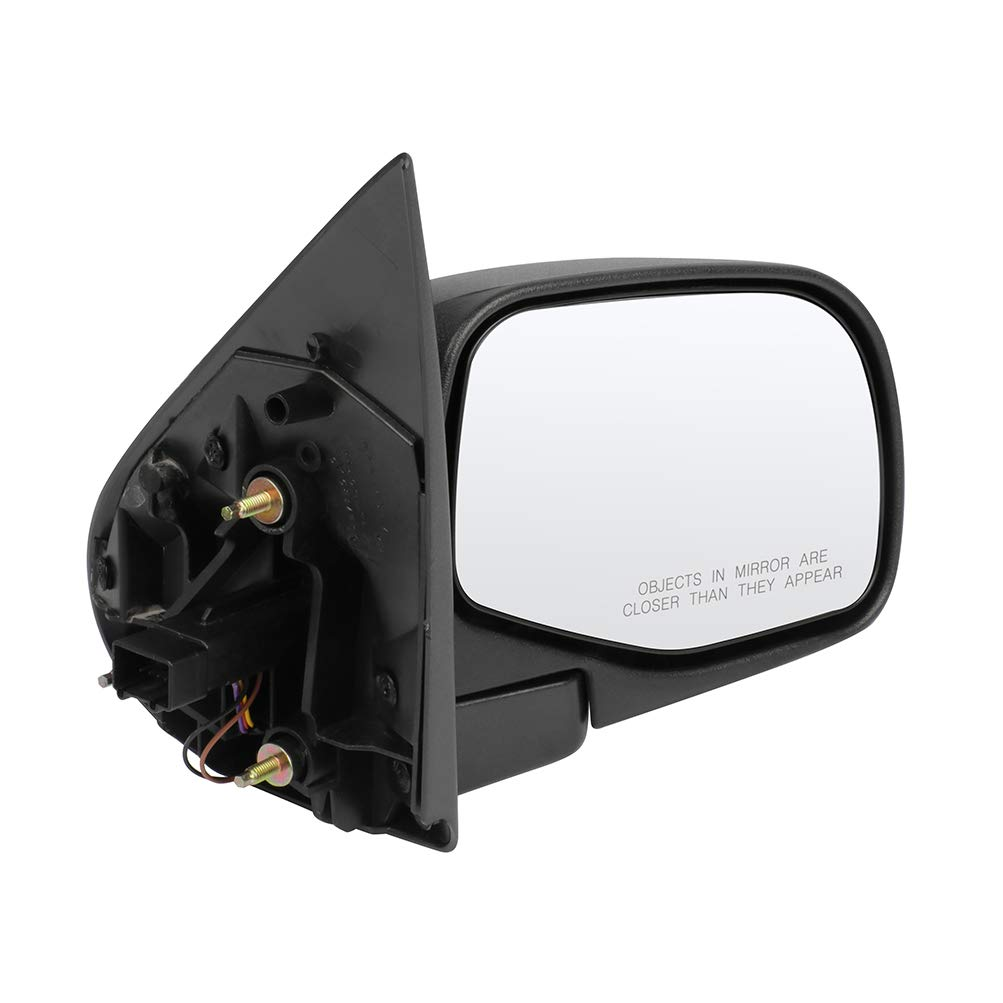 ECCPP Right Side Mirror Puddle Lamp Power Adjustment Manual Folding Compatible with 2002-2005 Ford Explorer 1L2Z17682BAA