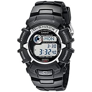 51m14D2JxqL. SS300  - G-Shock GW2310-1 Men's Tough Solar Atomic Black Resin Sport Watch