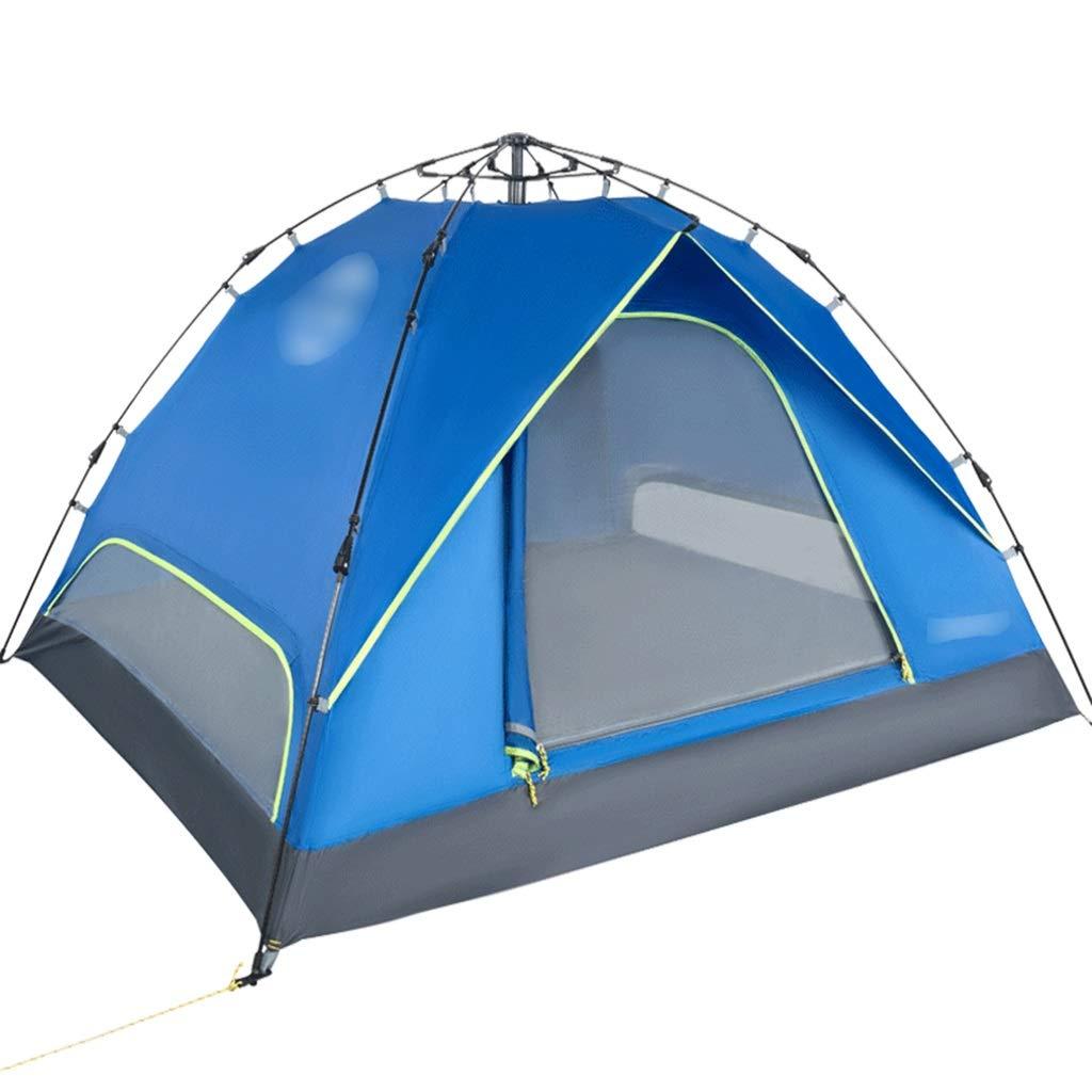 YaNanHome Im Freienzeltzelt des Zeltes im Freien Zelt des Zeltes mit 2 Personen im Freien (Farbe : Blau, Größe : 200  180  120cm)