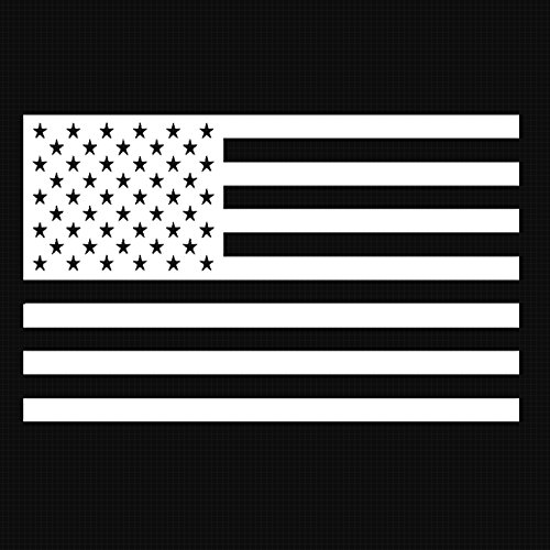 American Flag Decal Sticker Custom Die-cut Vinyl USA Merica United States Marines Army Navy Airforce (6.5