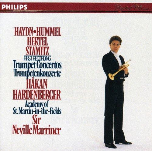 Hakan Hardenberger plays Haydn, Hertel, Hummel, Stamitz: Trumpet Concertos