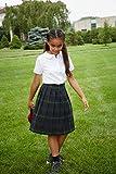French Toast Girls' Short Sleeve Peter Pan Collar