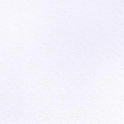 Brewster RD125 Anaglypta Wallpaper, 21-Inch x 396-Inch, Whites