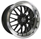 Kyowa Racing Evolve (Series 628) Black - 18 x 9 Inch Wheel