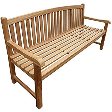 Amazon.com : Slatted Back and Seat Teak Wood Garden Bench ... on simple table designs, simple gate designs, simple patio designs, simple garage designs, simple nursery designs, simple wood designs, simple stool designs, simple fireplace designs, simple chair designs, simple greenhouse designs, simple grass designs, simple fence designs, simple zebra designs, simple home designs, simple vintage designs, simple cabinet designs, simple tree designs, simple art designs, simple door designs, simple furniture designs,