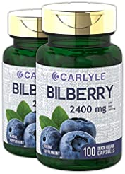 Bilberry Fruit Extract 2400mg | 200 Caps...
