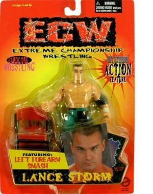 Amazoncom Ecw Toymakers Action Figure Lance Storm By Ecw Toys Games