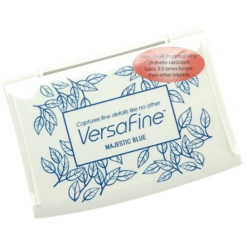 VersaFine Pigment Inkpad-Majestic Blue