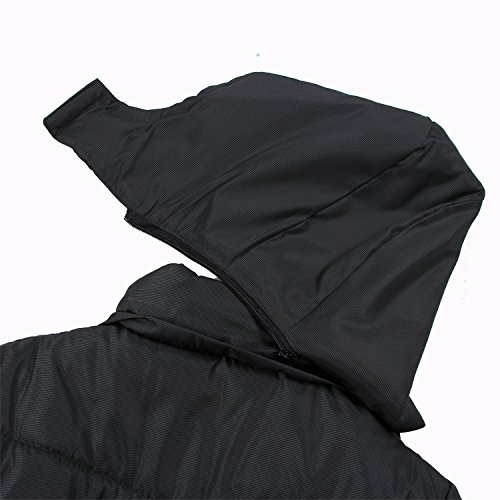 Inverno Con Nero Caldo Grande 3xl Cappuccio Uomo Giacca il Il Ispessita Hhy Codice Bwnqx8AZaT