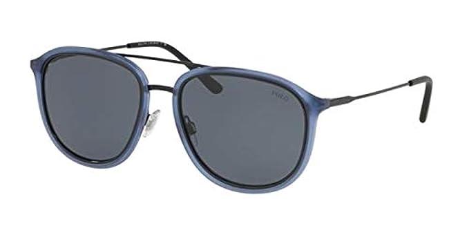 Ralph Lauren POLO 0PH4146 Gafas de sol, Matte Transparente Blue ...