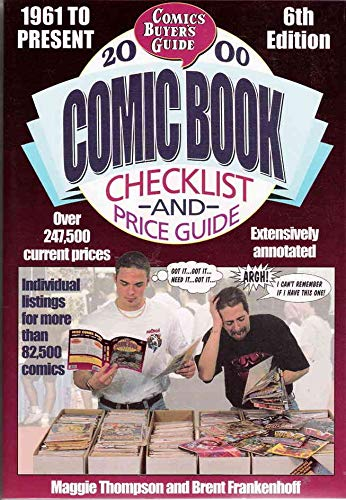 Comics Buyer's Guide Comic Book Checklist & Price Guide #2000 FN ; Krause comic book