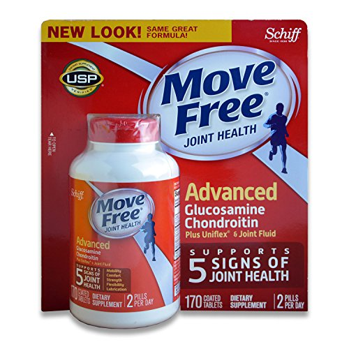 Free Caplets (Move Free Advanced Triple Strength 160 caplets by SCHIFF)