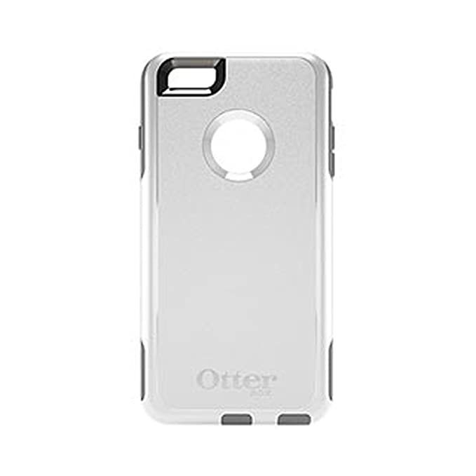 size 40 6dfbc 5aaa1 OtterBox Commuter Cell Phone Case for iPhone 6 Plus - Frustration-Free  Packaging - Glacier