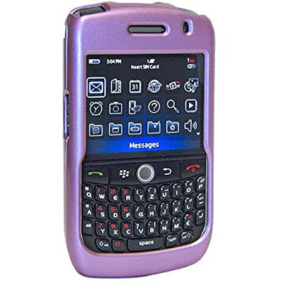Amzer Snap-On Case for BlackBerry Curve 8900 - Polished Lilac from Amzer