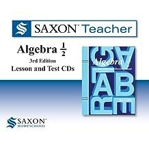 Saxon Algebra 1/2 Homeschool: Saxon Teacher CD ROM 3rd Edition 2010