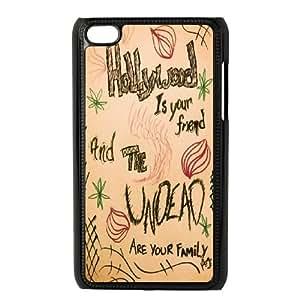 LSQDIY(R) hollywood undead iPod Touch 4 Case Cover, Customized iPod Touch 4 Cover Case hollywood undead