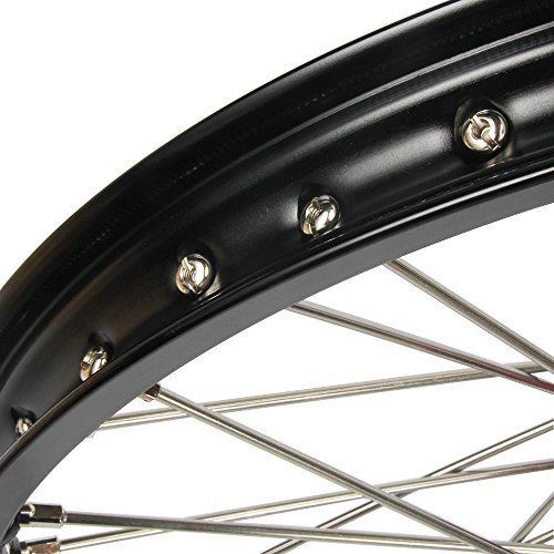 1.6x21'' 2.15x19'' Wheels Rims & Hubs & Spokes & Front Rear Brake Disc & Sprocket & Spacer Raiser - Honda CRF250R 15-17 CRF450R 15-17 by Unknown (Image #4)