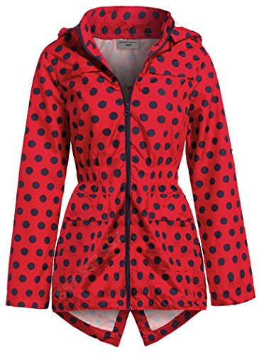 Red Ss7 Ss7 Impermeabile Donna Donna Red Giacca Giacca Impermeabile ZdwvRvpq
