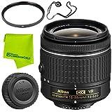 Nikon AF-P DX NIKKOR 18-55mm f/3.5-5.6G VR Lens Base Bundle