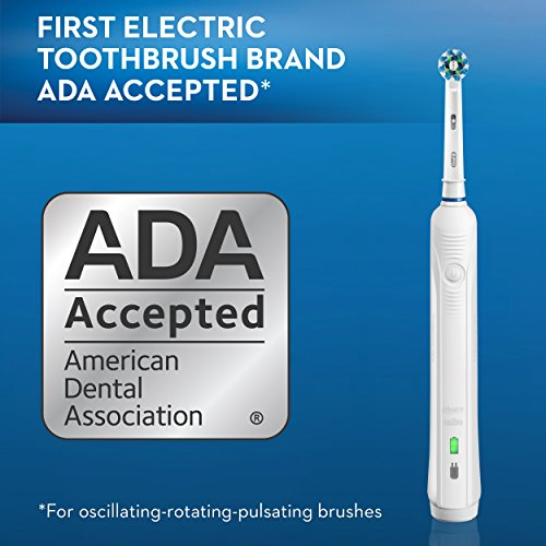 Oral-B White Pro 1000 Power Rechargeable Electric Toothbrush, Powered by Braun by Oral-B (Image #9)