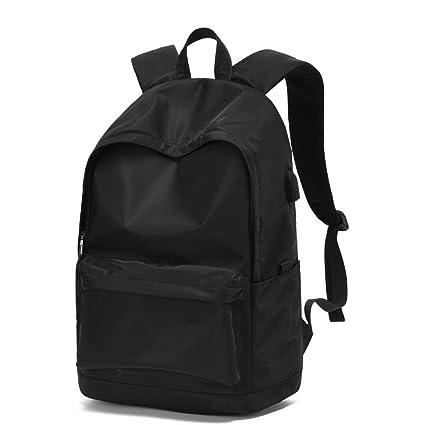 dcf68c881e3e Amazon.com : BZFjy Backpack Men Fashion Trend Korean Campus Travel ...