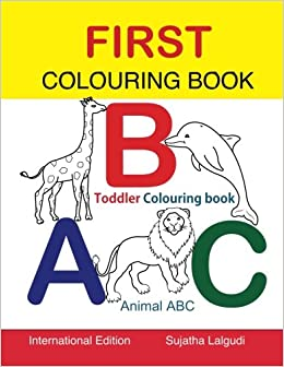 toddler colouring book animal abc book colouring for toddlers childrens learning books big book of abc activity books - Colouring Books For Children