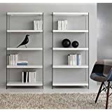 Libreria moderna Cristal Book - SG119: Amazon.it: Casa e cucina
