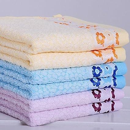34 * 70 cm pares Morado suave playa baño de lavado de fibra de bamb ¨