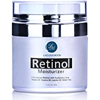 Retinol Moisturizer Cream for Face and Eye with 2.5% Retinol and Hyaluronic Acid (1.7-Oz./50ml)