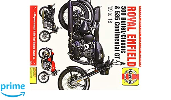 Royal Enfield 500 Bullet / Classic & 535 Continental GT ...