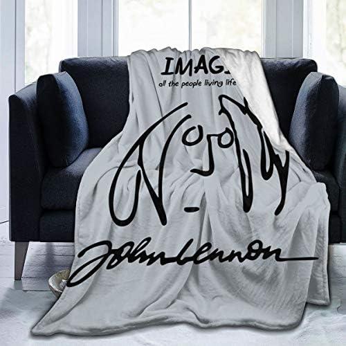 ジョン・レノン・イマジン John Lennon Imagine ひざ掛け ブランケット フリース ブランケット 柔らかい 厚い 200*150cm 両面使える ティーンエイジャー キッズ 通年使用 ホームオフィス