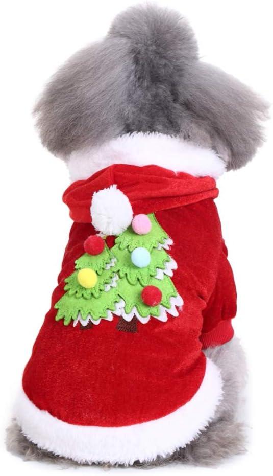 Happyhouse009 - Abrigo de Navidad para Mascotas, diseño de Gatos y ...