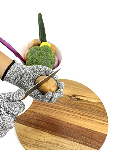 Lifeeasy Cut Resistant Gloves For Kitchen Level 5 Protection Import It All
