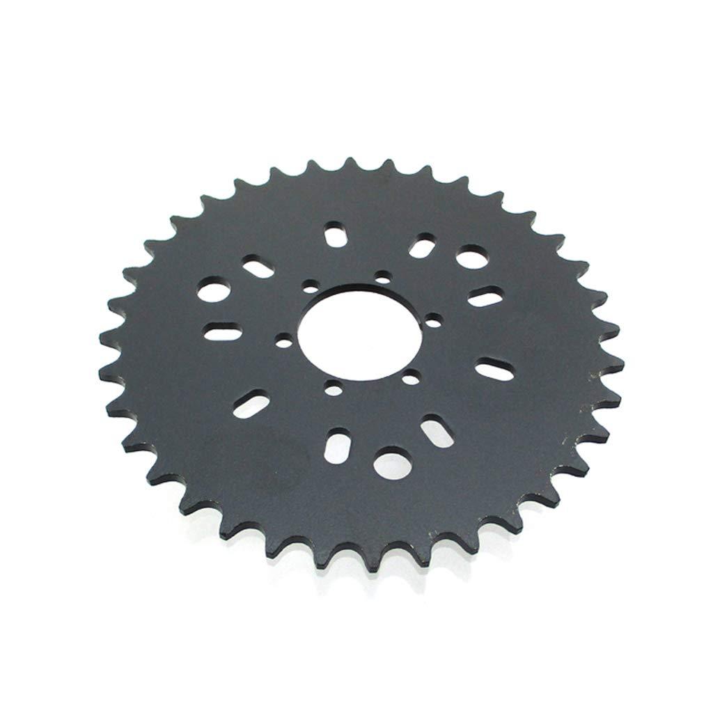 TC-Motor 6 Hole 36T Rear Chain Sprocket 415 Type For 49cc 50cc 60cc 80cc Motorized Bicycle Push Bike