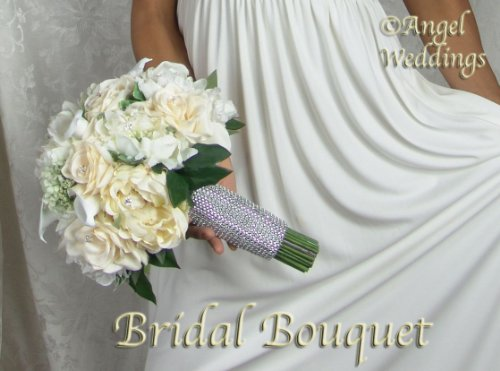 GORGEOUS-CHANTAL-Complete-Wedding-Package-Bridal-silk-flowers